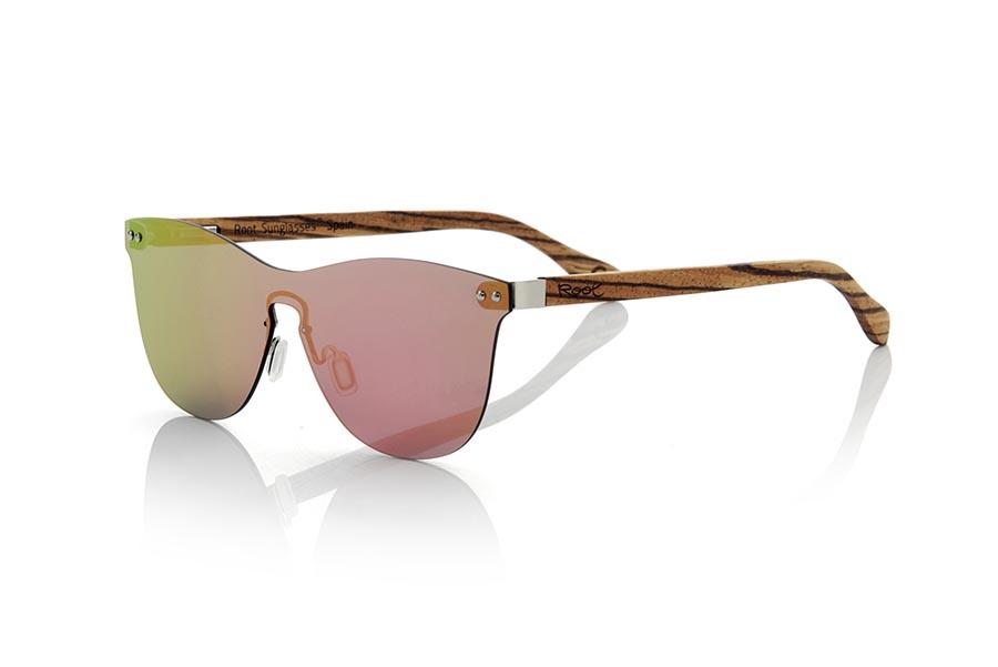 Wood eyewear of Zebra SUNSET ZEB | Root Sunglasses®