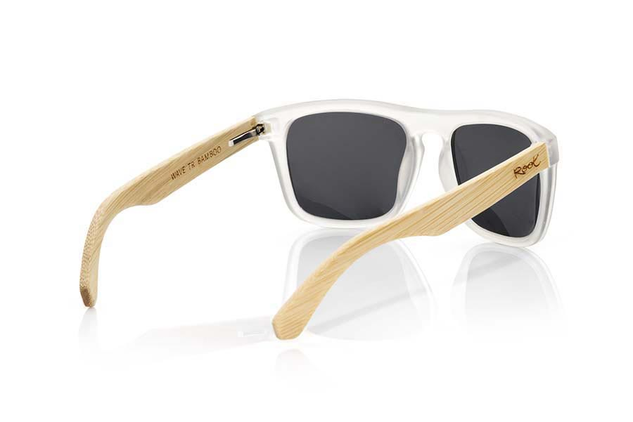 Wood eyewear of Bamboo WAVE TR | Root Sunglasses ®