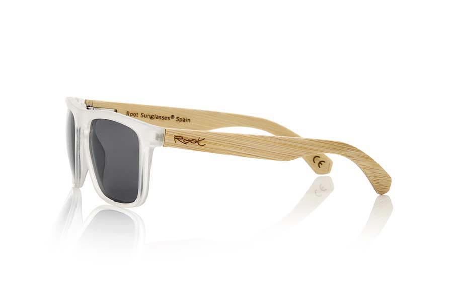 Gafas de Madera Natural de Bambú WAVE TR | Root Sunglasses®