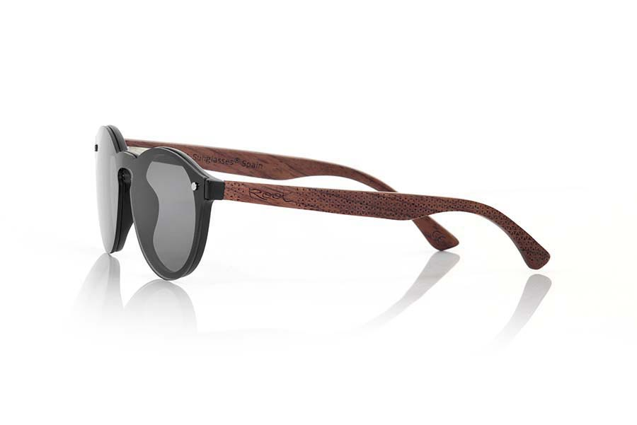 Gafas de Madera Natural de Palisandro SUN BLACK.   |  Root Sunglasses®