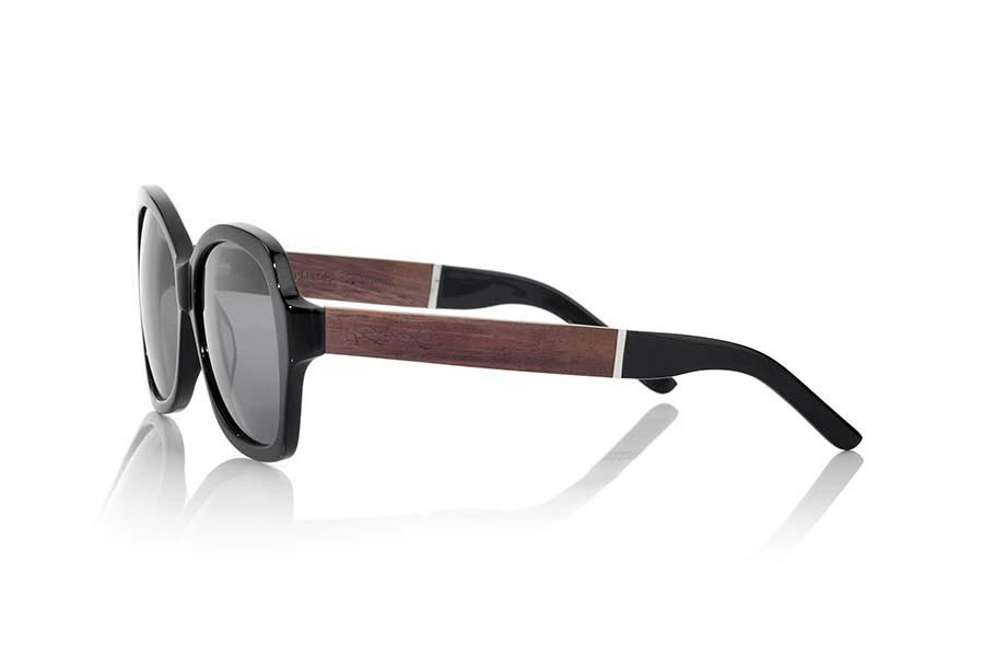Gafas de Madera Natural de  modelo KENYA BLACK | Root Sunglasses®