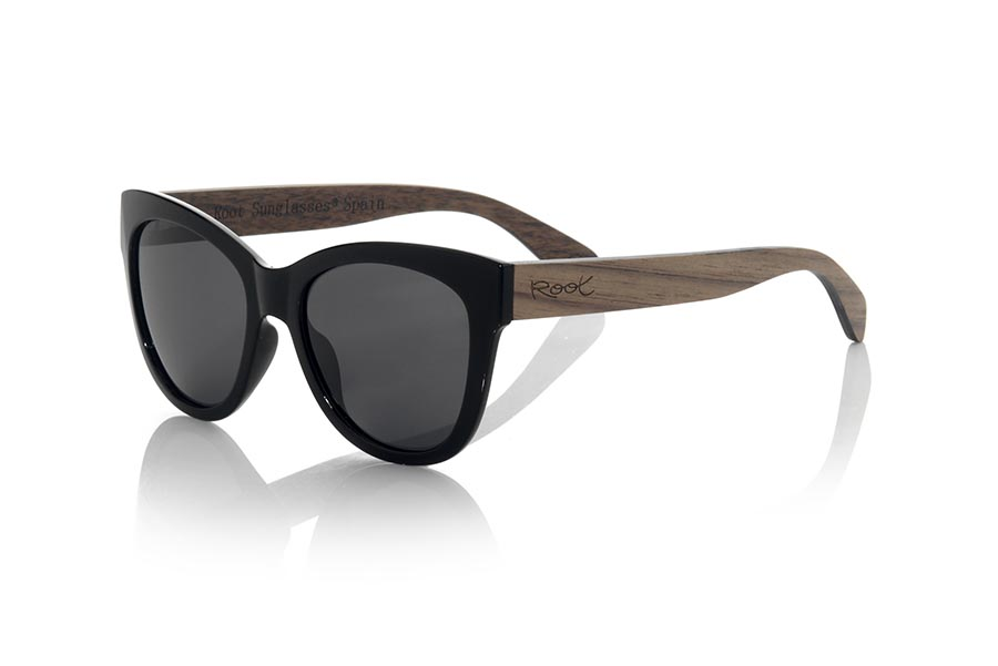 Wood eyewear of Rosewood CANOS.   |  Root Sunglasses®