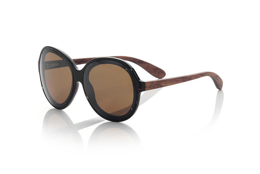 Wood eyewear of Rosewood GUADALMESI.   |  Root Sunglasses®