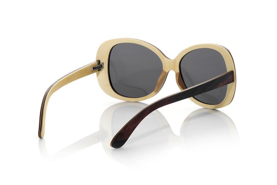 Wood eyewear of Ebony ZAHORA.   |  Root Sunglasses®