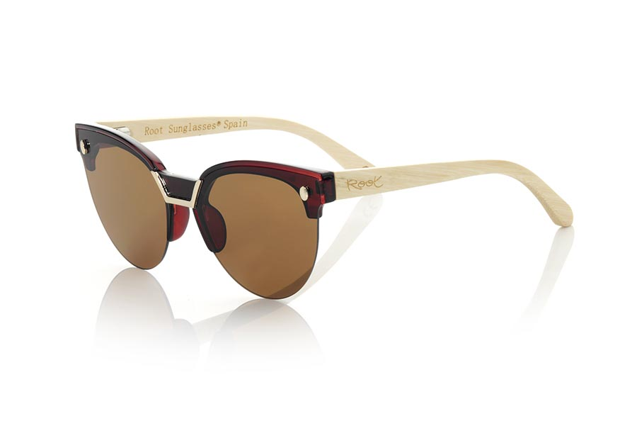 Wood eyewear of Bambú modelo ZAHORA MX | Root Sunglasses®