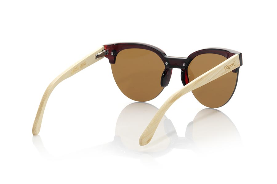 Wood eyewear of Bambú ZAHORA MX.   |  Root Sunglasses®