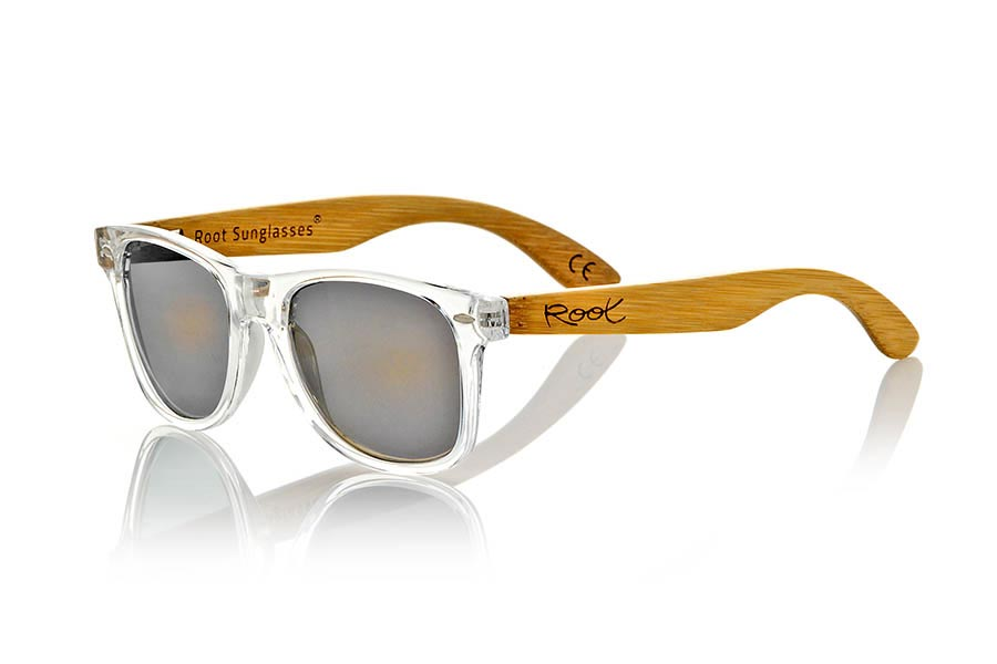 Gafas de Madera Natural de Bambú CANDY TR | Root Sunglasses®