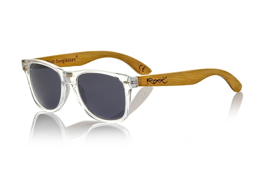 Wood eyewear of Bamboo modelo CANDY TR | Root Sunglasses®