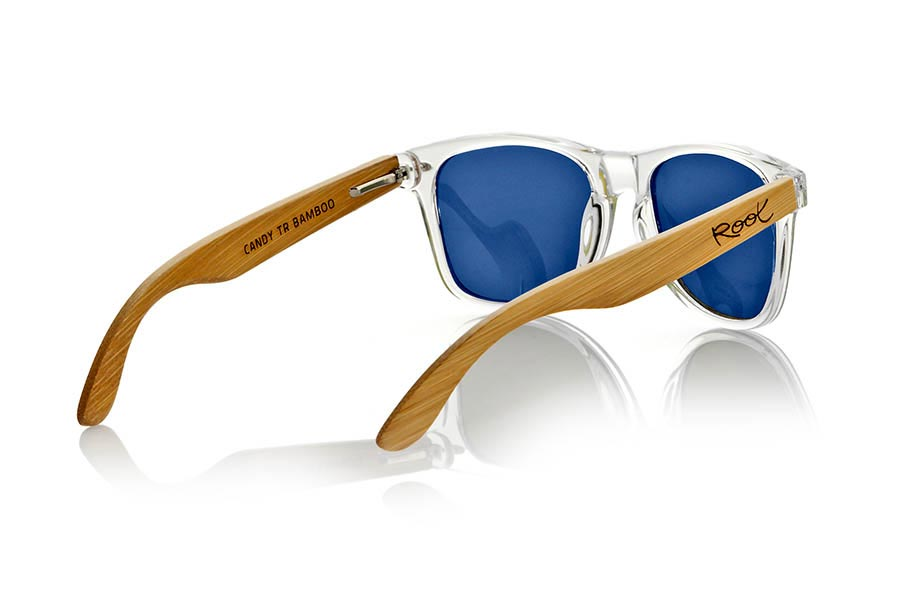 Wood eyewear of Bamboo CANDY TR | Root Sunglasses®