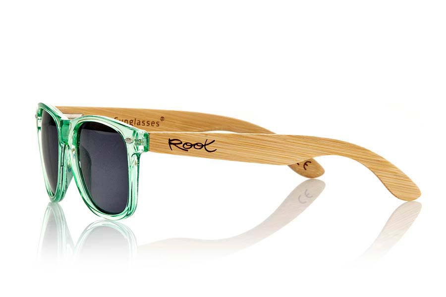 Wood eyewear of Bamboo CANDY GREEN | Root Sunglasses®
