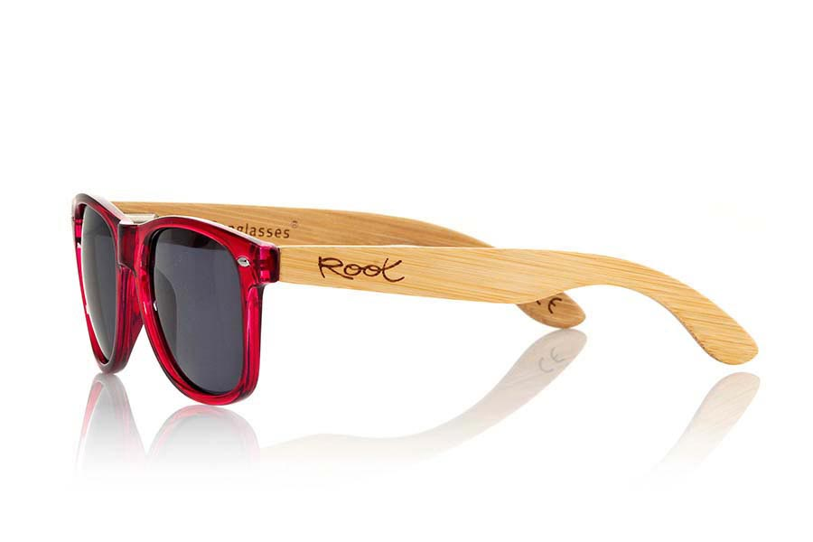 Wood eyewear of Bamboo modelo CANDY PINK | Root Sunglasses®