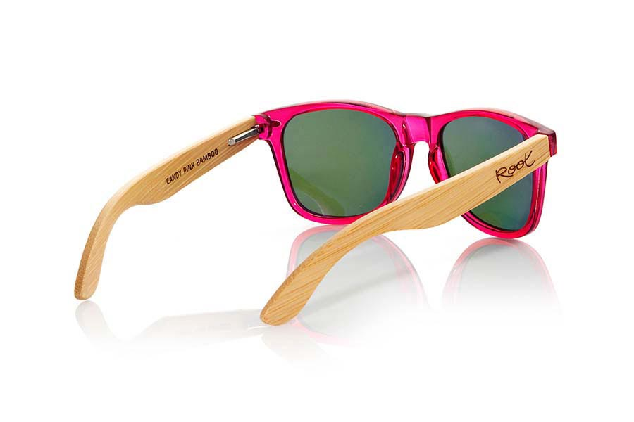 Gafas de Madera Natural de Bambú CANDY PINK | Root Sunglasses®