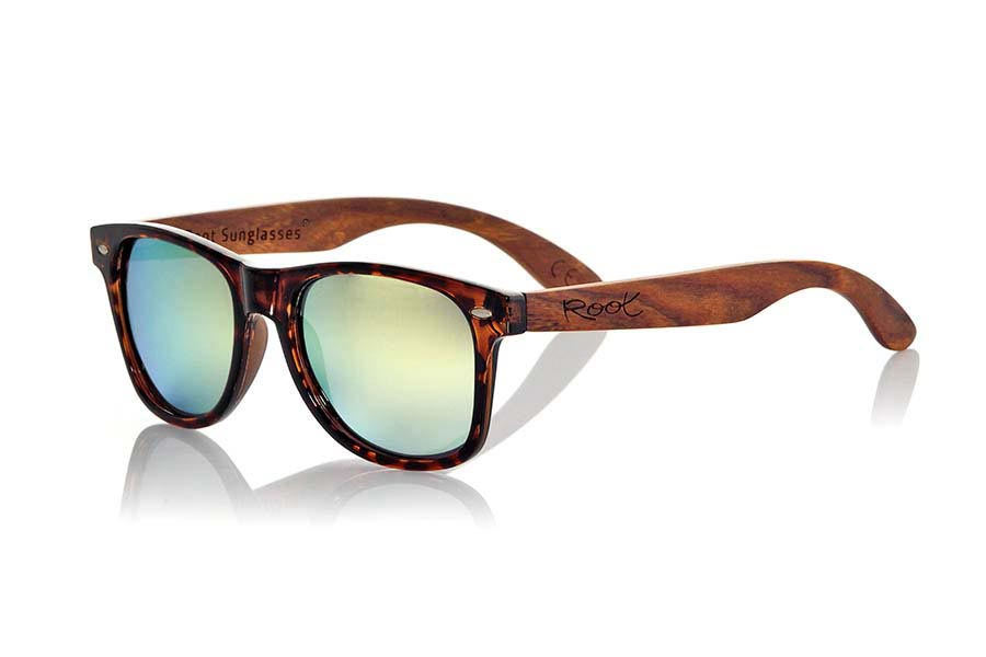 Gafas de Madera Natural de Palisandro CANDY TIGER | Root Sunglasses®