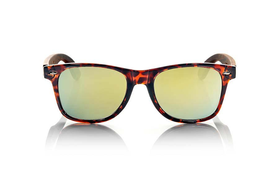 Wood eyewear of Rosewood CANDY TIGER | Root Sunglasses®