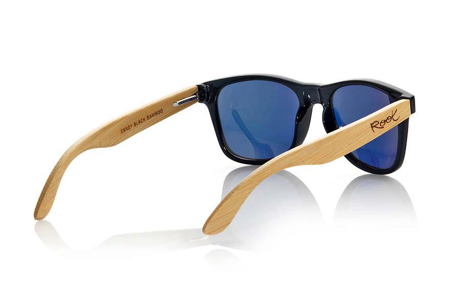 Gafas de Madera Natural de Bambú CANDY BLACK | Root Sunglasses ®