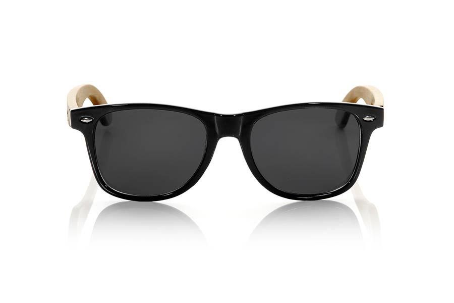 Gafas de Madera Natural de Bambú CANDY BLACK.   |  Root Sunglasses®
