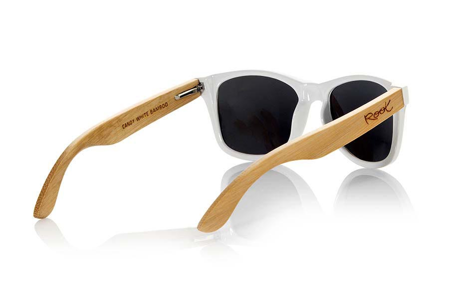 Gafas de Madera Natural de Bambú modelo CANDY WHITE | Root Sunglasses®
