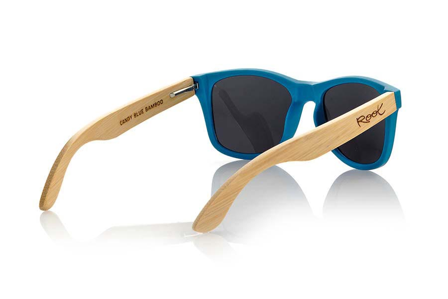 Gafas de Madera Natural de Bambú modelo MATT BLUE | Root Sunglasses®