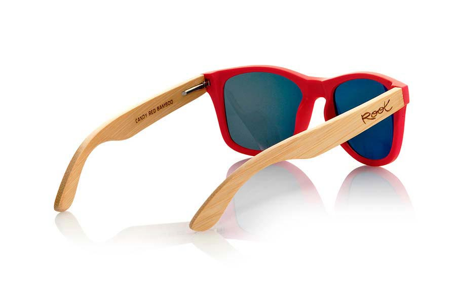 Wood eyewear of Bamboo CANDY RED | Root Sunglasses®