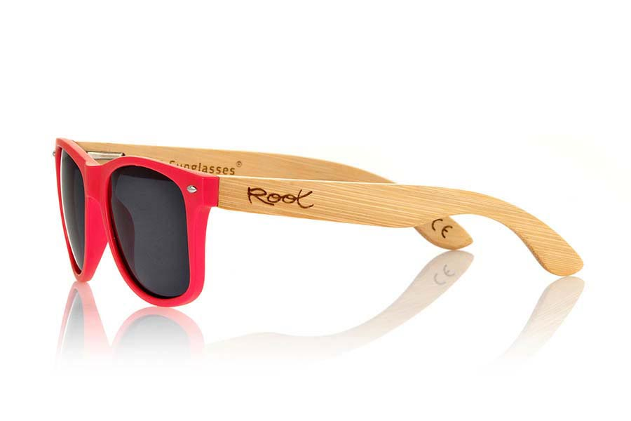 Root Wooden Sunglasses CANDY RED
