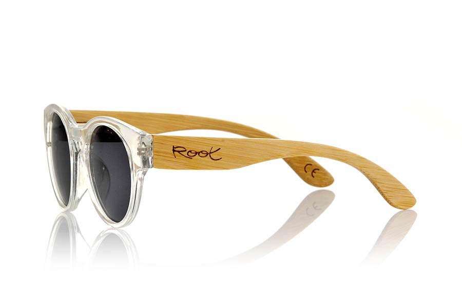 Wood eyewear of Bamboo GUM TR | Root Sunglasses®