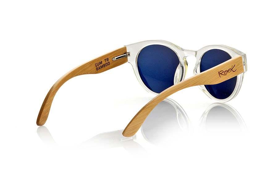 Wood eyewear of Bamboo GUM TR | Root Sunglasses ®