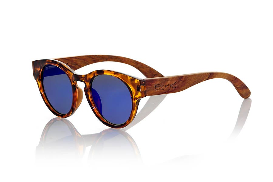 Wood eyewear of Rosewood modelo GUM TIGER | Root Sunglasses®