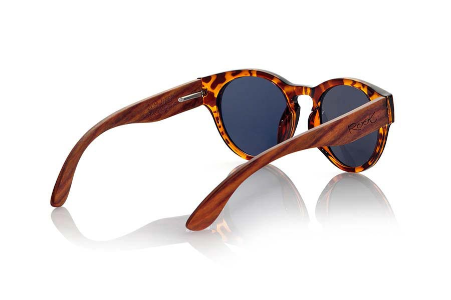 Wood eyewear of Rosewood GUM TIGER | Root Sunglasses®