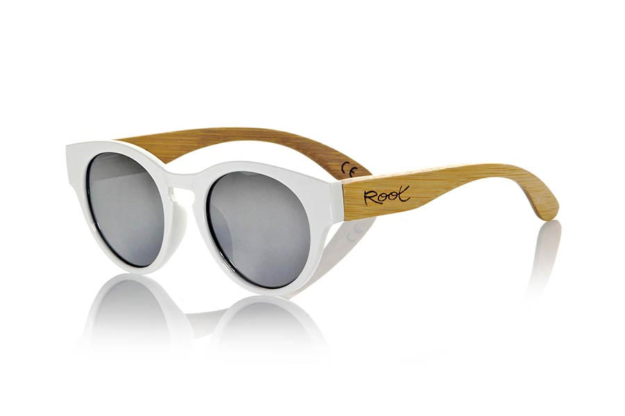 Gafas de Madera Natural de Bambú GUM WHITE | Root Sunglasses®