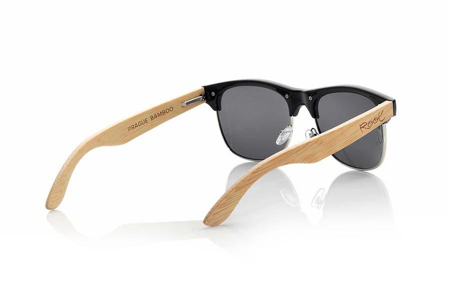 Wood eyewear of Bamboo PRAGUE | Root Sunglasses ®