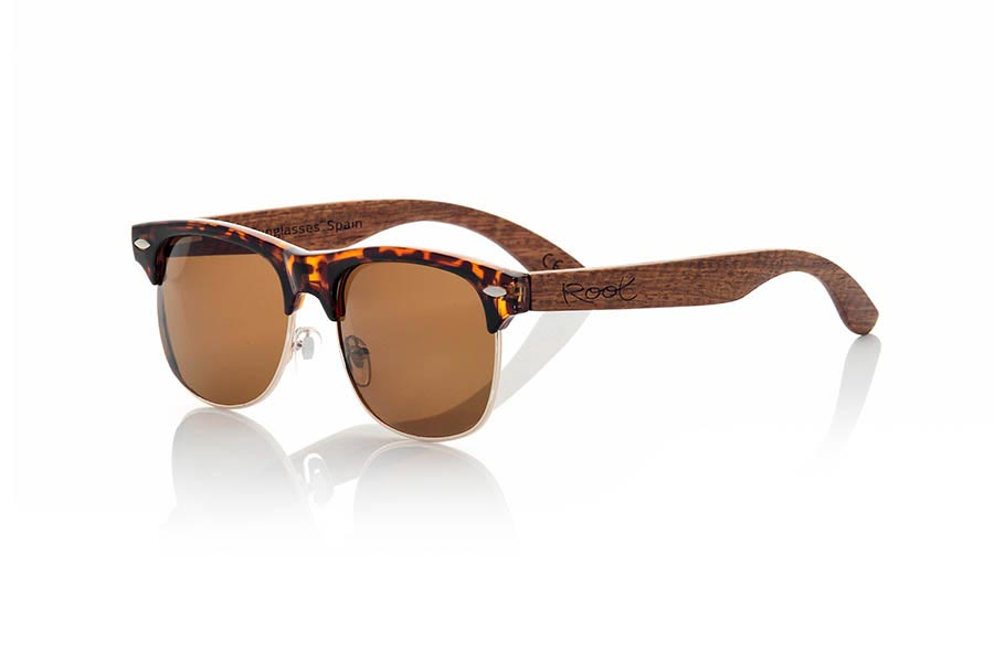 Wood eyewear of Rosewood PARIS | Root Sunglasses®