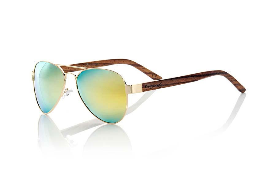 Gafas de Madera Natural de Zebrano BERLIN.   |  Root Sunglasses®