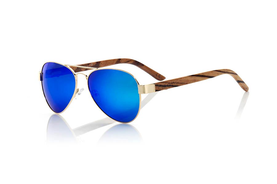 Wood eyewear of Zebra BERLIN | Root Sunglasses®
