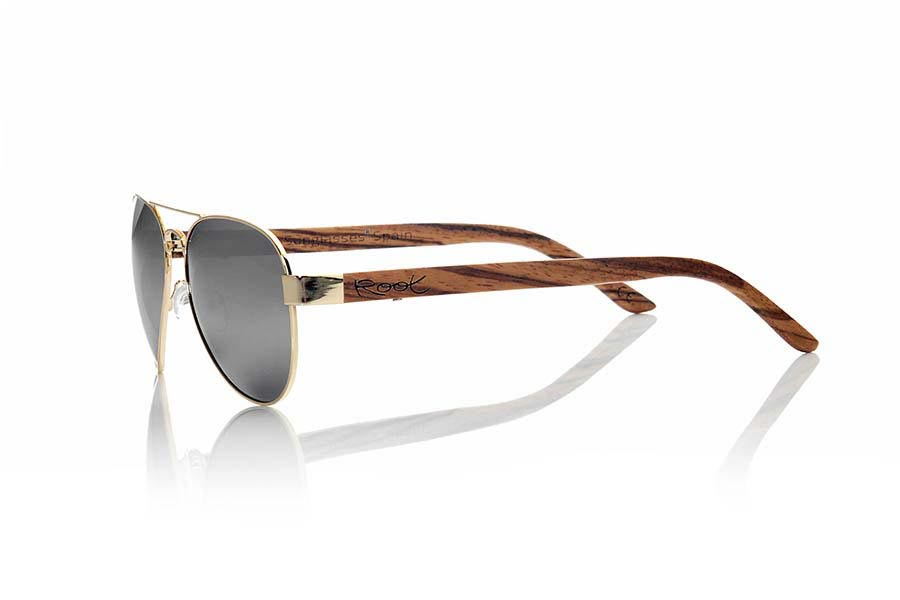 Gafas de Madera Natural de Zebrano BERLIN | Root Sunglasses®