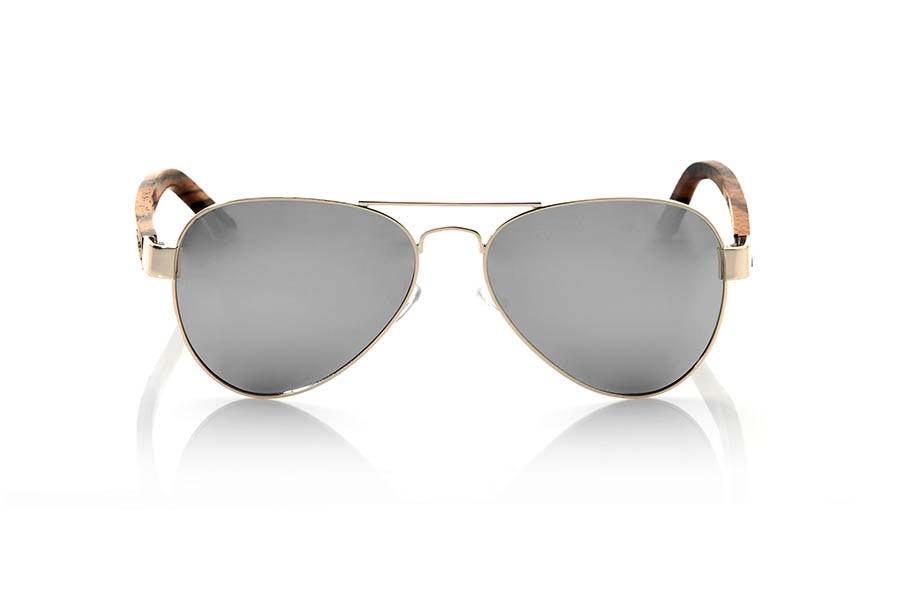Gafas de Madera Natural de Zebrano BERLIN | Root Sunglasses ®