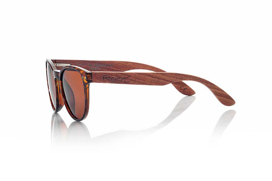Wood eyewear of Rosewood GENOA.   |  Root Sunglasses®