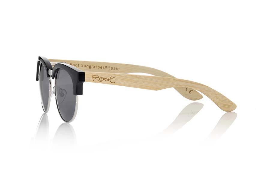 Gafas de Madera Natural de Bambú DUNE BLACK | Root Sunglasses®