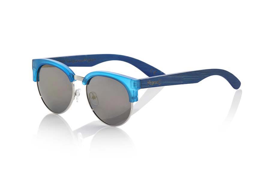 Wood eyewear of  DUNE BLUE | Root Sunglasses®