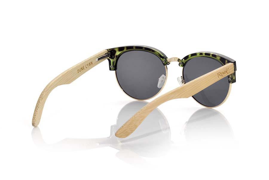 Wood eyewear of Bamboo DUNE CYAN | Root Sunglasses ®