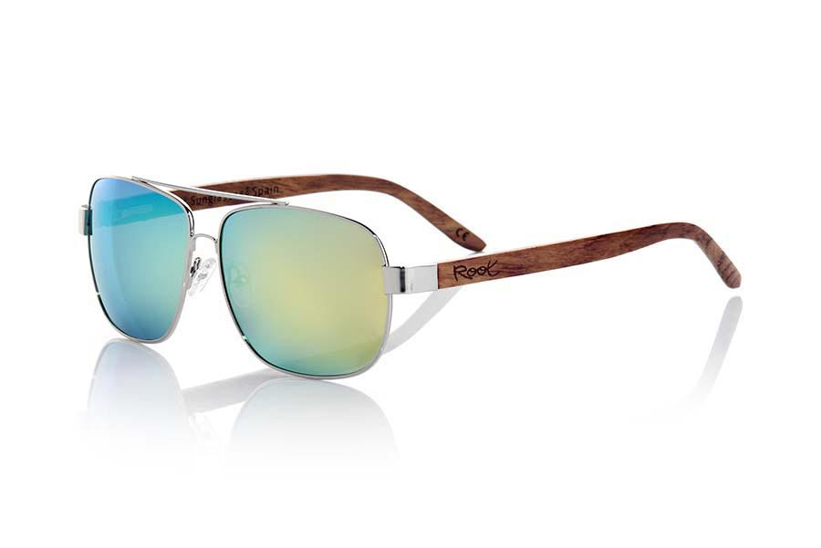 Wood eyewear of Rosewood modelo MOSCOW | Root Sunglasses®
