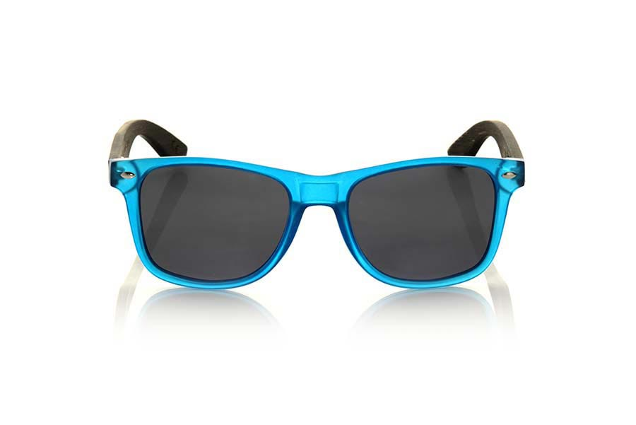 Gafas de Madera Natural de Bambú SUN BLUE MX | Root Sunglasses ®