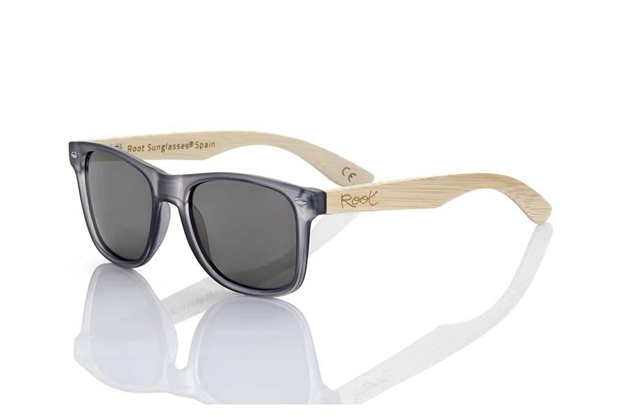 Wood eyewear of Bamboo modelo SUN GREY MX | Root Sunglasses®