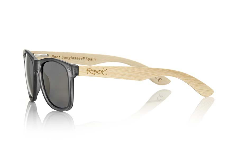 Gafas de Madera Natural de Bambú SUN GREY MX | Root Sunglasses®