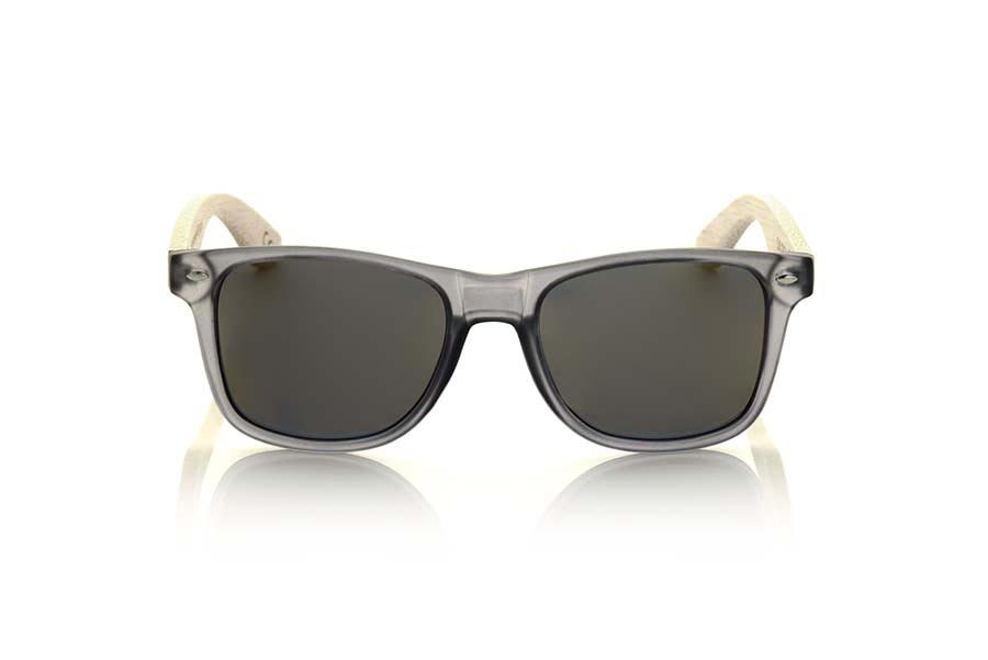 Wood eyewear of Bamboo SUN GREY MX.   |  Root Sunglasses®