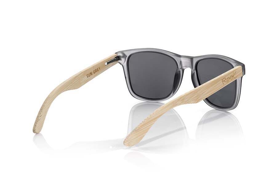 Gafas de Madera Natural de Bambú SUN GREY MX | Root Sunglasses ®