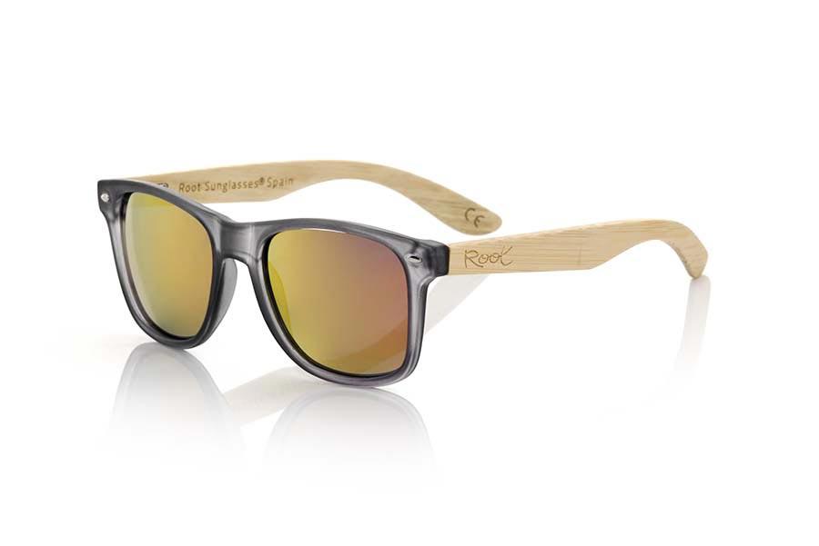 Gafas de Madera Natural de Bambú SUN GREY MX | Root Sunglasses®