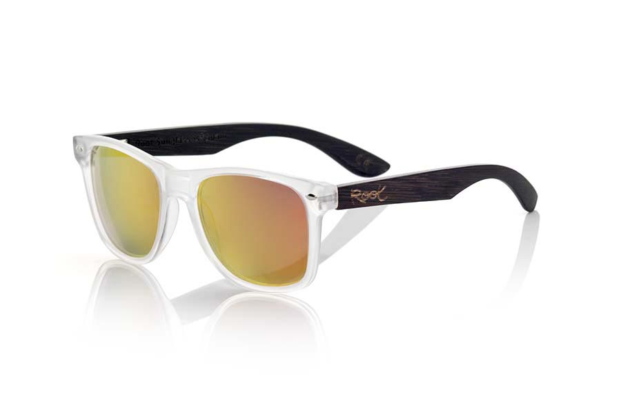 Wood eyewear of  modelo SUN TR MX | Root Sunglasses®