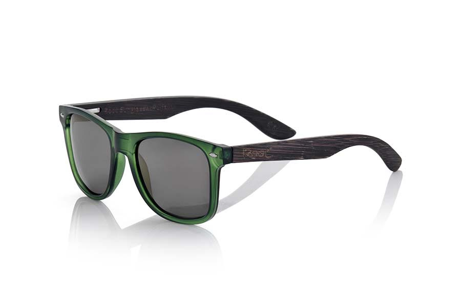 Wood eyewear of  SUN GREEN MX | Root Sunglasses®