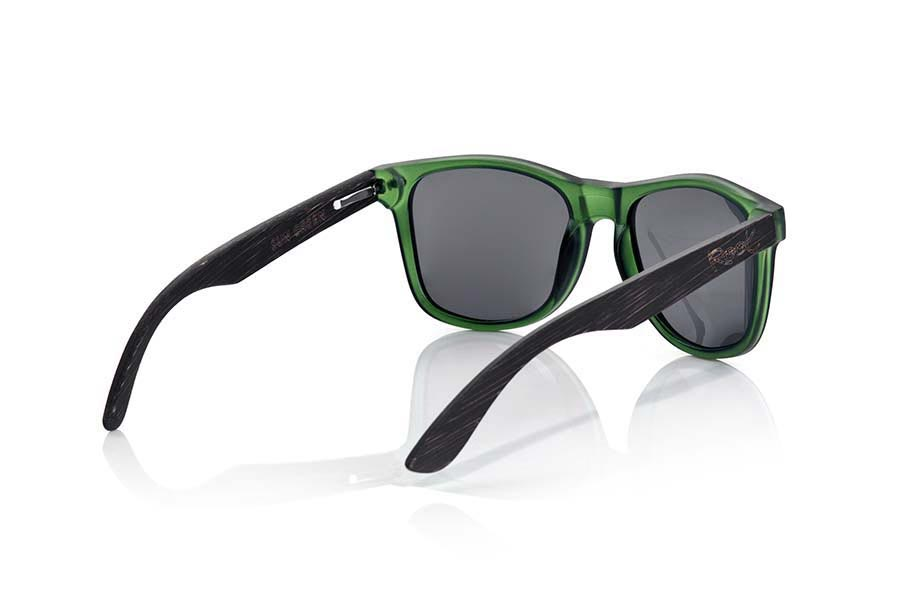 Wood eyewear of  SUN GREEN MX | Root Sunglasses ®