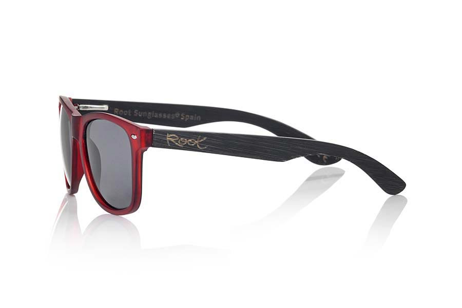 Wood eyewear of Bamboo SUN RED MX | Root Sunglasses®